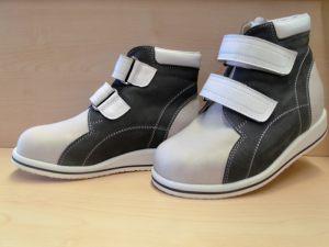Schuhe weiß-grau